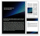 Abstract/Textures: Abstract Blue Grid Word Template #06914