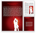 Holiday/Special Occasion: Romance Word Template #06930
