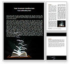 Education & Training: Flying Pages Word Template #06947