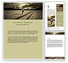Business Concepts: Life Path Word Template #06971
