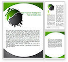 Nature & Environment: Urbanization Word Template #06976