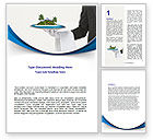 Careers/Industry: Atoll Word Template #06979