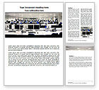 Careers/Industry: IT Office Space Word Template #06986