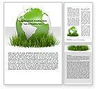 Global: Growing World Word Template #06989