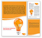 Consulting: Idea Puzzle Word Template #07011