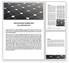 Abstract/Textures: Solar Panel Word Template #07026