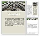 Cars/Transportation: Railways Word Template #07027