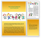 Education & Training: Funny Kids Word Template #07045
