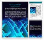 Abstract/Textures: Modèle Word de hélice bleue #07072