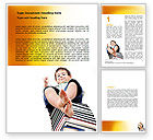 Education & Training: Knowledge Base Word Template #07086