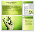 Careers/Industry: Olive Lamp Word Template #07113