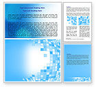 Abstract/Textures: Bulging Theme Word Template #07153