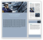 Utilities/Industrial: Engineering Industry Word Template #07159