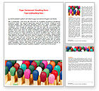 Business Concepts: Diverse Matches Word Template #07161