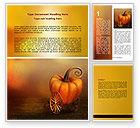 Art & Entertainment: Pumpkin Carriage Word Template #07176