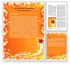 Holiday/Special Occasion: Shiny Theme Word Template #07183