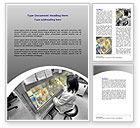 Technology, Science & Computers: Modèle Word de tests de laboratoire #07186