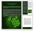 Technology, Science & Computers: Modèle Word de acinetobacter #07195