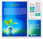 Global: Fertile Earth Word Template #07199