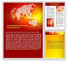 Business: Geschäft interaktiv Word Vorlage #07220