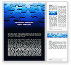 Business: Plantilla de Word - blue mind breaker #07272