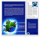 Nature & Environment: Big City Building Word Template #07288