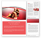 Medical: Nude Lovers Word Template #07295