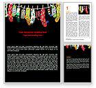 Education & Training: Socks Word Template #07315