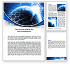Telecommunication: 워드 템플릿 - 세계 통신 #07327