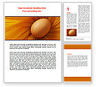 Business Concepts: Egg Word Template #07332