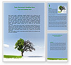 Nature & Environment: Spring And Winter Word Template #07340