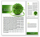 Business Concepts: Modèle Word de green clew clew #07346