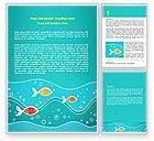 Education & Training: Fish Theme Word Template #07349