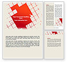 Abstract/Textures: Red Squared Word Template #07377