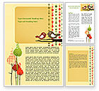 Education & Training: Home Decor Word Template #07388
