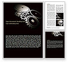 Utilities/Industrial: Dark Mechanism Word Template #07404
