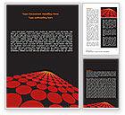 Abstract/Textures: Modèle Word de forme pointillée rouge #07422