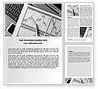 Financial/Accounting: Business Graph Word Template #07437