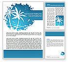 Careers/Industry: Lagune Word Template #07445