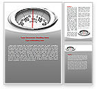 Medical: Scales Word Template #07459