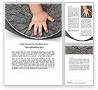 Education & Training: Age Word Template #07481