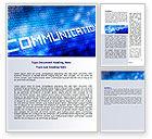 Telecommunication: Communication Stream Word Template #07535