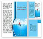 Business: Fishhook Word Template #07568