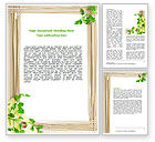 Food & Beverage: Noodle Frame Word Template #07579