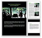 Careers/Industry: Loaders Word Template #07590