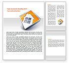 Careers/Industry: Cottage Icon Word Template #07604