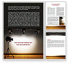 Careers/Industry: Photo Studio Word Template #07606