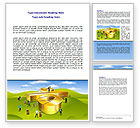 Financial/Accounting: Interest Rate Word Template #07638