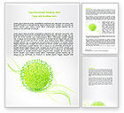 Nature & Environment: Booming World Word Template #07654