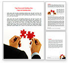 Consulting: Adding Pieces Word Template #07664